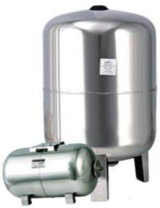 Гідроаккумулятор з нержавійки, фото