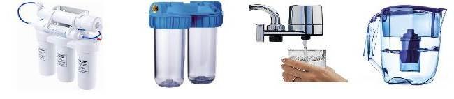 Фільтри для води, фото