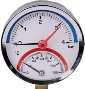 Термоманометр, фото