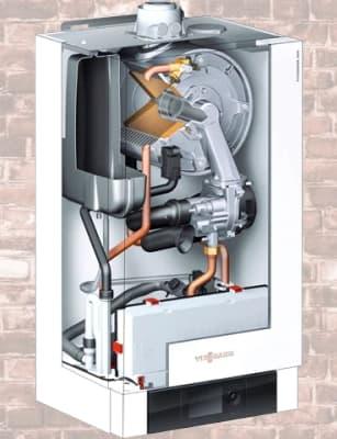 настінні газові конденсаційні котли - Vitodens 200-W і Vitodens 222-W